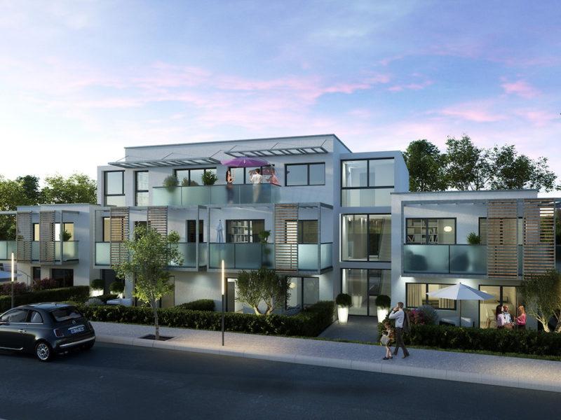 Perspective commerciale d'un projet immobilier à Perpignan