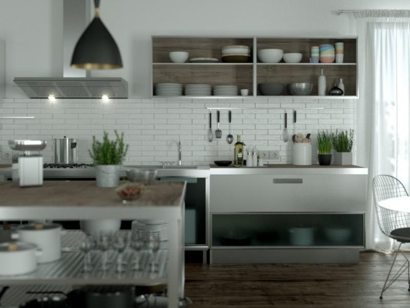 Kutch Studio - Perspective commerciale cuisine